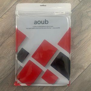 NEW AOUB TRIFOLD SILICONE CASE/STAND IPAD 2/3/4